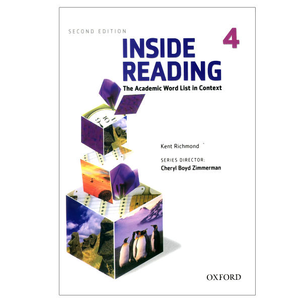 کتاب Inside Reading 4 اثر kent richmond انتشارات oxford university press